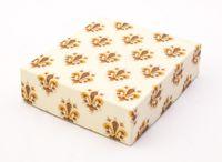 """Подарочная коробка """"Lilies"""" (13x15x4 см; оранжевые элементы)"""