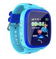 Детские часы SmartBabyWatch W9 (голубые)