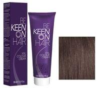 """Крем-краска для волос """"KEEN"""" тон: 7.1, средне-русый пепельный"""
