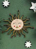 """Ёлочная игрушка """"Солнце-девица"""" (арт. 528-2)"""