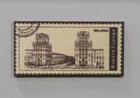 """Магнит в виде марки """"Ворота города"""""""