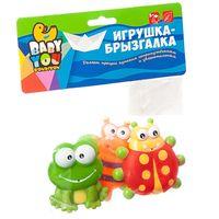 """Набор игрушек для купания """"Бабочка, лягушка, божья коровка"""""""