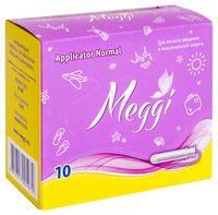 "Тампоны ""Meggi Applicator Normal"" (10 шт.)"