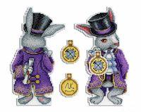 """Вышивка крестом """"Чудесный кролик"""" (170х100 мм)"""