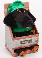 """Мягкая игрушка """"Ваксон в зелёной шапке и шарфе"""" (25 см)"""
