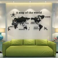 """Панно """"Карта мира"""" (54х120 см)"""