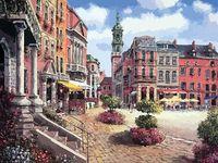"Картина по номерам ""Шарлеруа. Бельгия"" (400х500 мм; арт. 629-AB)"