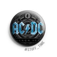 """Значок маленький """"AC/DC"""" (арт. 441)"""