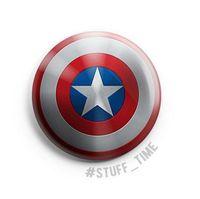"Значок маленький ""Капитан Америка"" (арт. 2648)"