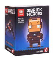 "Конструктор ""Brick Heroes. Железный человек"""
