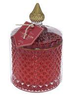 Свеча декоративная ароматизированная (85х85х140 мм)