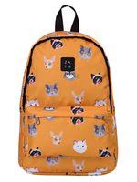 """Рюкзак """"Коты"""" (281, оранжевый)"""
