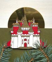 """Ёлочная игрушка """"Замок Снежной Королевы"""" (арт. 529-1)"""