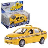 """Модель машины инерционная """"Lada Granta. Такси"""" (масштаб: 1/36)"""