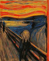 """Картина по номерам """"Эдвард Мунк. Крик"""" (500х400 мм)"""