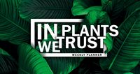 "Планер ""In PLANTS we trust"" (80x160 мм)"