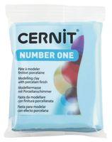 """Глина полимерная """"CERNIT Number One"""" (голубой; 56 г)"""