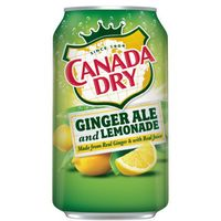 "Напиток газированный ""Canada Dry. Ginger Ale and Lemoade"" (355 мл)"