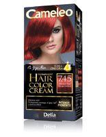 """Крем-краска для волос """"Cameleo"""" (тон: 7.45, интенсивный красный)"""