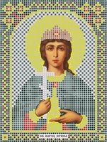 """Вышивка бисером """"Святая Великомученица Ирина"""""""
