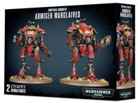 Warhammer 40.000. Imperial Knights. Armiger Warglaives (54-17)