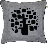 """Подушка """"Фьюжн. Древо"""" (48x48 см; серая)"""