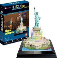 """Сборная модель из картона """"Статуя Свободы с иллюминацией"""" (США)"""