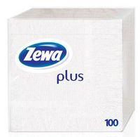 Салфетки бумажные ZEWA Plus (цвет: белый; 100 шт)