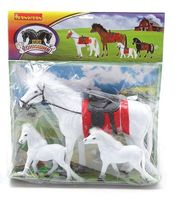 """Набор фигурок """"Лошадь с жеребятами"""""""