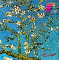 """Блокнот для художественных идей """"Ван Гог. Цветущие ветки миндаля"""" (255x255 мм)"""
