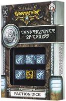"""Набор кубиков """"Warmachine Convergence of Cyriss Faction"""" (6 шт.; черно-голубой)"""