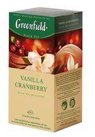 """Чай черный """"Greenfield. Vanilla Cranberry"""" (25 пакетиков)"""