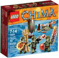 """LEGO Chima """"Лагерь Клана Крокодилов"""""""