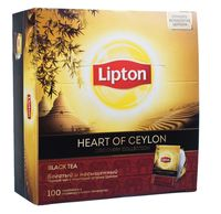 "Чай черный ""Lipton. Heart of Ceylon"" (100 пакетиков)"