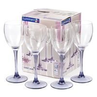 """Бокал для вина стеклянный """"Sweet Lilac"""" (4 шт.; 190 мл)"""