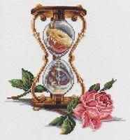 """Вышивка крестом """"Песочные часы"""" (200х230 мм)"""
