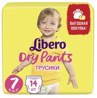 "Подгузники-трусики ""Libero. Dry Pants 7"" (16-26 кг; 14 шт.)"