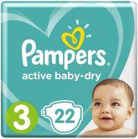 """Подгузники """"Active Baby-dry Midi"""" (6-10 кг; 22 шт.)"""