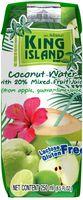 """Вода кокосовая """"King Island. Яблоко, лайм, гуава"""" (250 мл)"""