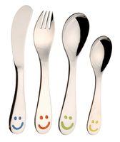 """Набор столовых приборов для детей """"Smilеу"""" (4 предмета)"""