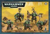 """Набор миниатюр """"Warhammer 40.000. Ork Nobz"""" (50-12)"""