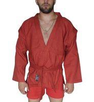 Куртка для самбо AX5 (р. 54; красная; без подкладки)