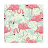 """Подарочная коробка """"Фламинго"""" (13х13х8 см)"""