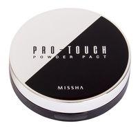 """Компактная пудра для лица """"Pro-Touch"""" SPF 25 тон: 21, light beige"""