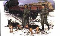 "Набор миниатюр ""German Feldgendarmerie w/Dogs"" (масштаб: 1/35)"