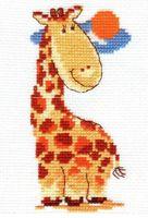 """Вышивка крестом """"Жирафик"""""""