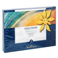 """Пластилин восковой """"MultiColor"""" (18 цветов; арт. 34-0010)"""