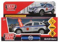 """Модель машины """"Nissan Qashqai. Полиция"""" (со световыми и звуковыми эффектами; арт. QASHQAI-P-SL)"""