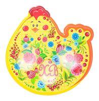 """Подставка для яиц пластмассовая """"Курочка"""" (180х82 мм)"""