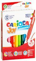 """Фломастеры """"Carioca Joy"""" (12 цветов)"""